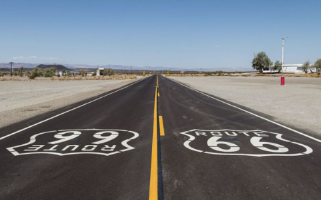 route 66 highway photo