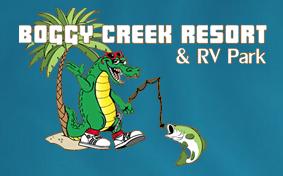 Boggy Creen Resort and RV Park Orlando, Florida.