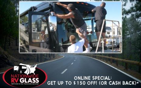 Nationwide RV Glass Online Rebate