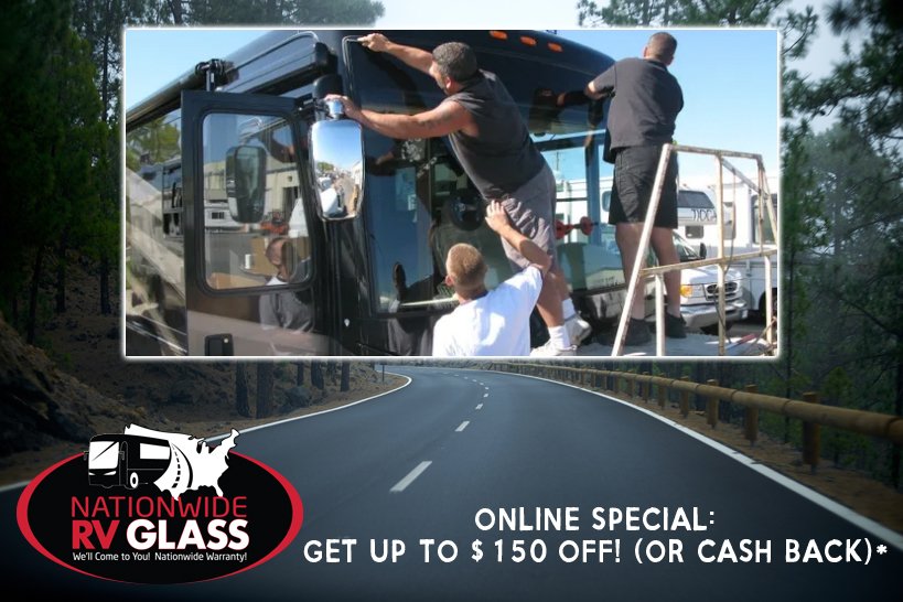 Nationwide RV Glass Online Rebate